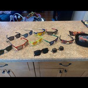 10 customized Oakley sunglasses